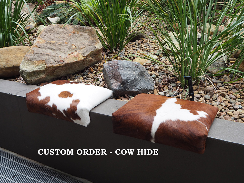 SmartArse Seats custom order cow hide